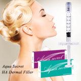Injeção cutânea Injectable secreta da face do enchimento do ácido hialurónico do Aqua
