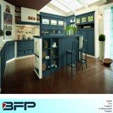 Design moderno e elegante em madeira maciça de armários de cozinha Bsk-40