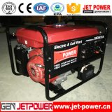 groupe électrogène portatif d'essence monophasé de 6kw 6000W