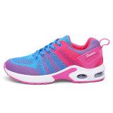 Loopschoenen van de Schoenen van de Vrouwen van Flyknit van de Schoenen van de Sport van de Schoenen Wonmen van de manier de Roze Nieuwe Lichte Hogere