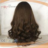 Parrucca ebrea dei capelli europei ondulati piacevoli