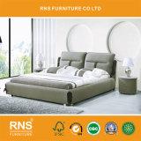 A1068 серый Classic King ткань кровать