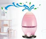 백색 Aromatherapy 음이온 물 공기 정화기