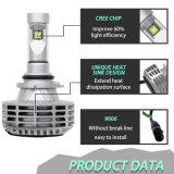 Super LED luminoso farol H7 Sistema de iluminação LED Automática
