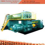 ぬれた材料のための高真空圧力粘土の煉瓦作成機械
