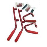 Передние Lantsun J039 красные Lantsun стальные и задние ручки штанги самосхвата для двери 2007+ Jk 4 Wrangler виллиса