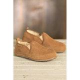 Низкие ботинки людей овчины типа с эластичным бортовым Gore на зима