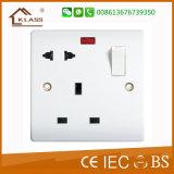 Interruptor largo de la corriente ALTERNA 45A de la alta calidad 86*146 con el indicador