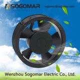 (SF17252) ventilador de ventilação do ventilador do rolamento de esferas 6inch redondas para o gabinete