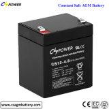 12V4ah/12V4.5ah/12V5ah de Zure Navulbare UPS Batterij van het lood voor het Systeem van het Alarm