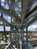 Gi 프레임을%s 가진 직류 전기를 통한 Prefabricated 강철 구조물 창고
