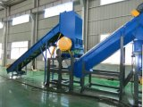 Tipo econômico película plástica da agricultura do HDPE dos PP do PE que recicl a máquina