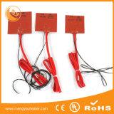 Гибкие электрические подогреватели силиконовой резины с прилипателем 3m