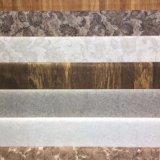 Het witte Ontwerp die van de Korrel van de Lijn Houten Decoratief Document voor Vloer, Deur, de Oppervlakte van het Meubilair van de Oppervlakte van de Garderobe van Chinese Fabriek afdrukken