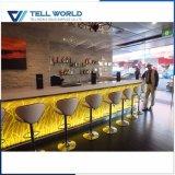 Barra comercial moderna de la recepción del club nocturno del RGB LED del contador de la barra del club de noche