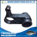 Suporte 2X400 da gaiola da piscicultura do HDPE