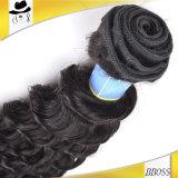 ブラジルのバージンのヘアケア製品の熱い販売の10A深い織り方
