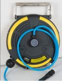 Total beiliegende Zelle ABS geben kombinierten Trommel-/Hose-Bandspule-Kasten frei