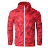 Красочные мужская водонепроницаемый длинной втулки высокого качества для использования вне помещений ветровку куртка