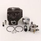 Los conjuntos del aro del pistón del cilindro para Stihl 026 Ms260 con la motosierra del filtro de combustible de petróleo del carburador parte 44m m