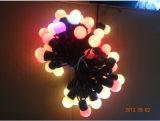 Водоустойчивый свет шнура шарика СИД для напольного украшения рождества
