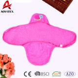 O bebê bordado Microfiber novo da promoção do projeto Swaddle o cobertor