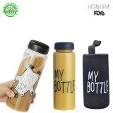 2018 500ml plástico livre de BPA Prinking garrafa de água