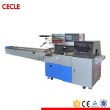 Professional Libro automática Máquina de embalaje de flujo de almohada