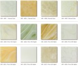 6 mm da superfície sólida Artificial translúcido verde Os painéis de parede de pedra