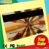 Cartão em branco programável pré-imprimido do PVC de MIFARE com Magstripe