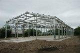 Surtidor y fábrica prefabricados del edificio de la estructura de acero del palmo claro