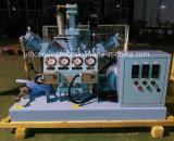 Bottiglia di riempimento dell'ossigeno Using il ripetitore del compressore dell'ossigeno di Oilless