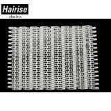 Il materiale bianco Har-7500 di colore POM di Hairise irriga il nastro trasportatore di griglia