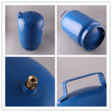 bombola per gas di cottura materiale d'acciaio rotolata 6kg di GPL