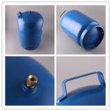Cylindre de gaz à cuire matériel en acier roulé par 6kg de HP295 5kg LPG