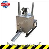 Derretimento quente hidráulico do cilindro da marcação de estrada Preheater Thermoplastic da pintura do único