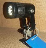 Heißer Scheinwerfer des Verkaufs-Schwarz-Aluminium-1W LED