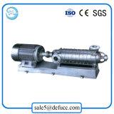 Pompe centrifuge à plusieurs étages d'acier inoxydable de 4 pouces pour l'industrie chimique