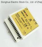 Type de rail DIN Puissance de commutation offre une gamme complète d'entrée universelle AC 88-264 VCA à DC 12V, 24V 60W