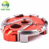 Leistungsfähiger bunter Verschluss-Deckel-Anteil an CNC der Aluminiummaschinellen Bearbeitung