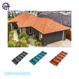 Бесплатный образец высокого качества Роман Тип Крыши с покрытием из камня плитка