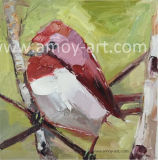 ホーム装飾のためのキャンバスのパレットナイフの鳥の油絵の農場の芸術