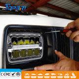 linterna sellada LED rectangular de la viga de 5X7 55W