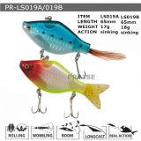 Pr-Ls019A/19b a personnalisé l'attrait en plastique de flottement de pêche de vairon dur