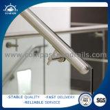 Pasamano de la escalera del metal del acero inoxidable/barandilla/barandilla prefabricados de la escalera del tubo de acero