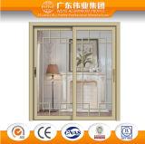 Двойная раздвижная дверь Tempered стекла