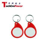 Ab0032RW Em4102チップアクセス制御125kHz RFID ABS Keyfobの札