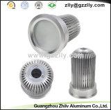 Koeler/Heatsink van het Aluminium van ISO de Grote Ronde Sneeuw Gevormde
