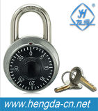 Blocages changeables de code en alliage de zinc à base métallique de la plaque tournante Yh1266 avec des clés