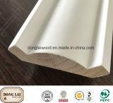 Moulage personnalisé de tête de surface en bois solide